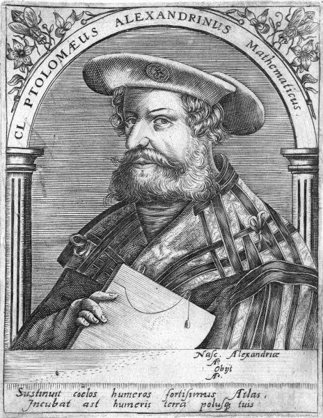 CLAUDIUS PTOLEMAIUS Alexandrian astronomer, mathematician and geographer Date: 2ND CENTURY