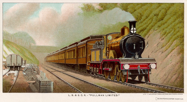 The 'Pullman Limited' of the London, Brighton and South Coast Railway