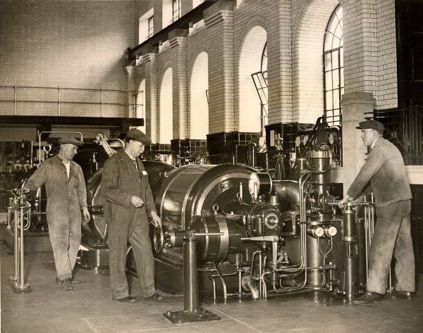 Pumping machinery installed at Surbiton, 1932 Date: 1932