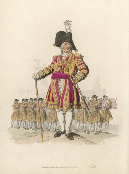 SERGEANT TRUMPETER An official of the royal household, the Sergeant and his Trumpeters perform on ceremonial occasions