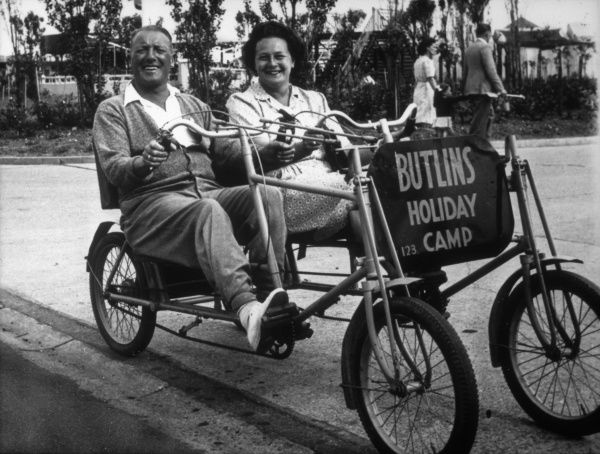 A 'Quad-ro-bike' at a Butlin's Holiday Camp