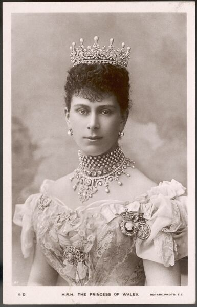 QUEEN MARY Wife of George V (as Princess of Wales)