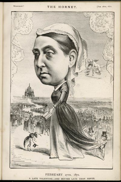 QUEEN VICTORIA Queen of England &c Drawn at a time of her increasing popularity