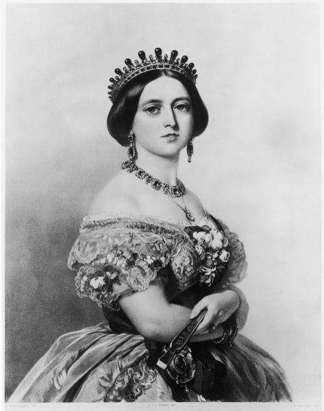 QUEEN VICTORIA A PORTRAIT FROM 1852