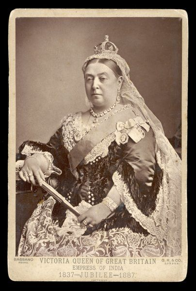 QUEEN VICTORIA As Empress of India, 1887
