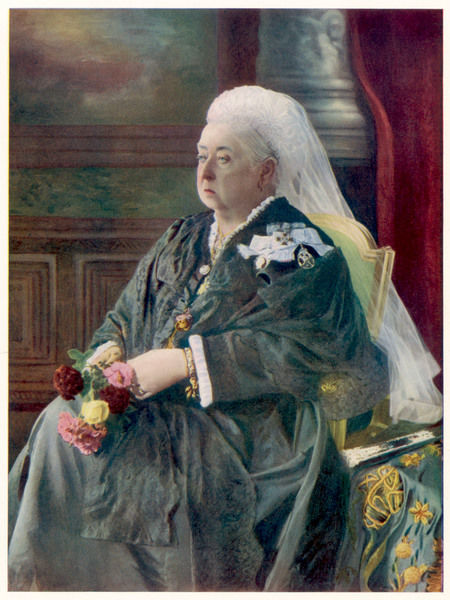 QUEEN VICTORIA Original Photograph from 1899