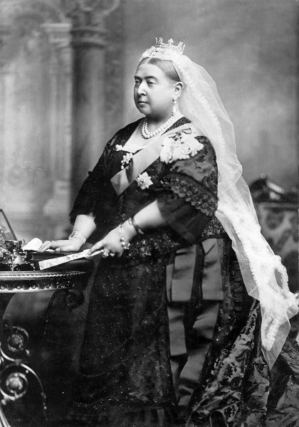 Photographic portrait of Queen Victoria (1819-1901) of Great Britain and Ireland and Empress of India, photographed at Windsor, 1887