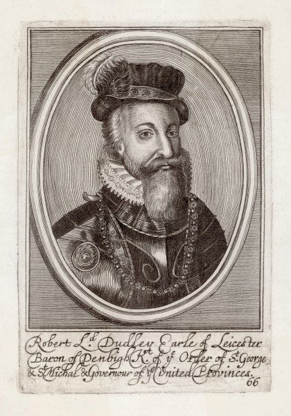 ROBERT DUDLEY, earl of LEICESTER statesman