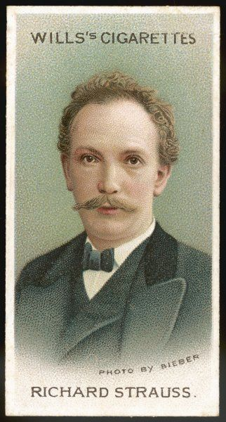 RICHARD STRAUSS German musician