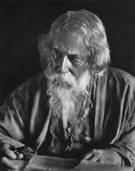 SIR RABINDRANATH TAGORE Indian Bengali poet, composer and painter Date: 1861 - 1941