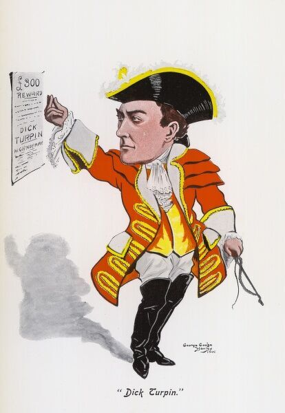 R A ROBERTS Music hall entertainer as Dick Turpin