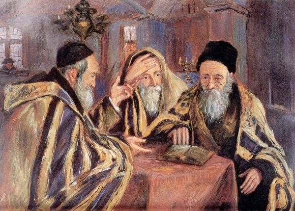 Three Rabbis Portrait of Jewish life in Poland in the 19th century
