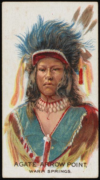 Agate Arrow Point: Chief of the Warm Springs tribe