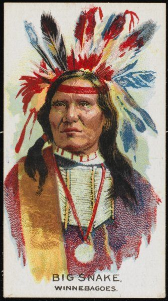 Big Snake: Chief of the Winnebago tribe