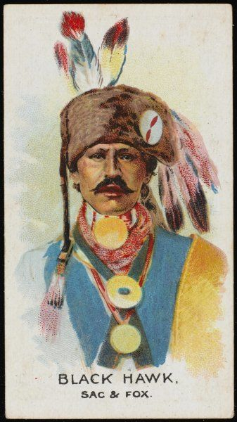 Black Hawk: Chief of the Sacs & Foxes tribe