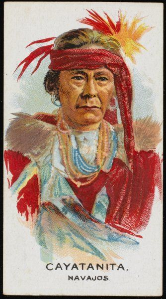 Cayatanita: Chief of the Navajo tribe