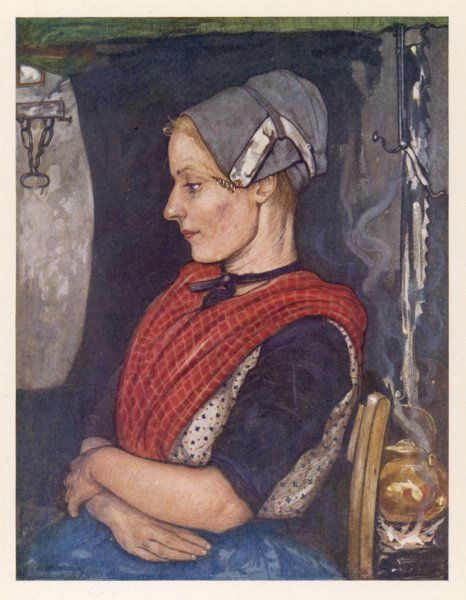 A young Dutch woman from Elspeet
