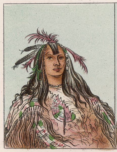 Flathead (Salish) Indian of Montana