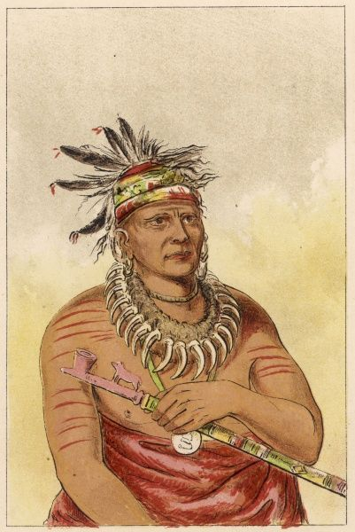 Chief of the Pawnee people