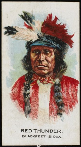 Red Thunder: Chief of the Blackfoot Sioux tribe