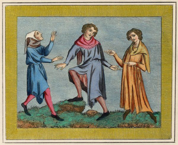 Three typical Englishmen of the medieval period