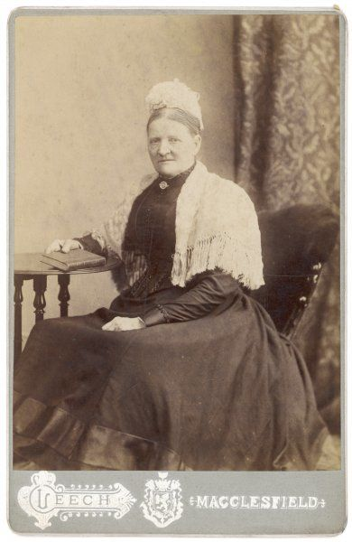 A typical middle-class Victorian woman, member of the Davenport family of Macclesfield