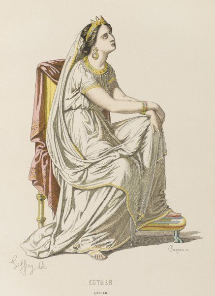 'ESTHER' Esther, queen of Persia