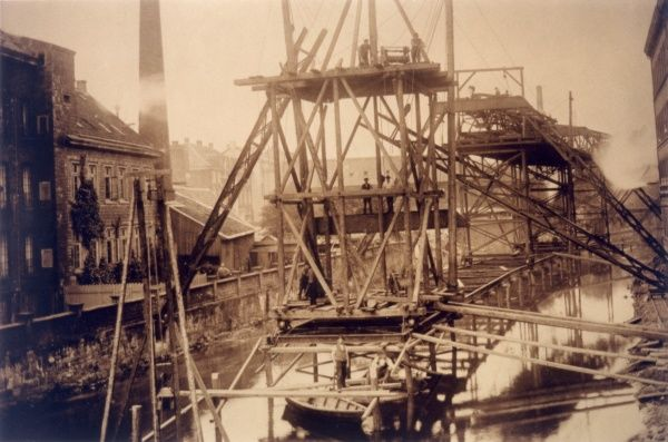 ELEVATED RAILWAY - Construction of the Wuppertal Elevated Railway