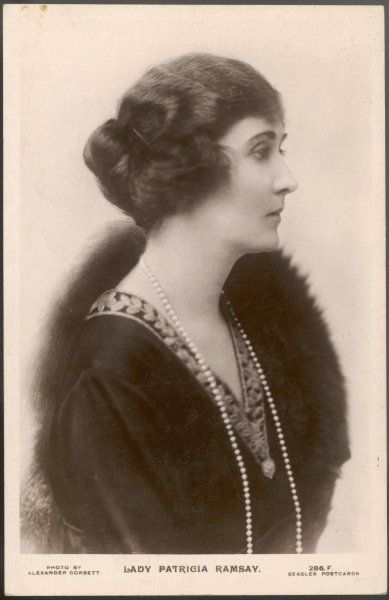 PRINCESS PATRICIA of CONNAUGHT Daughter of Arthur, Duke of Connaught, married Sir Alexander Ramsay in 1919