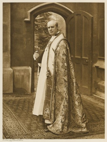 RANDALL THOMAS DAVIDSON Archbishop of Canterbury from 1903 - 1928