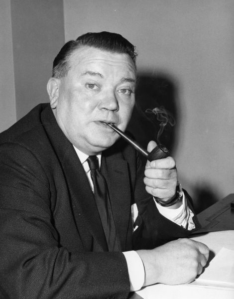 Ray Gunter (1909-1977) English Labour politician shortly after he became MP for Southwark in 1964
