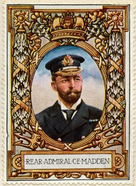 SIR CHARLES EDWARD MADDEN (1862 - 1935) Pictured here as Rear Admiral, but eventually reaching the rank of Admiral of the Fleet