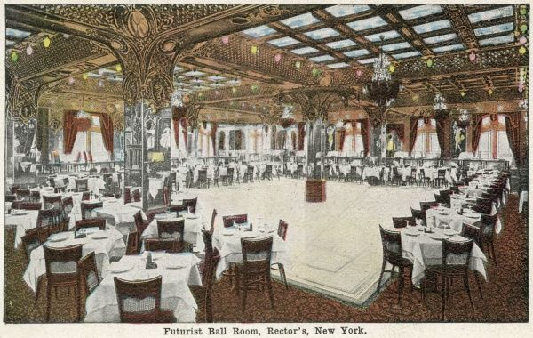 Futurist Ball Room, Rectors, New York City, America