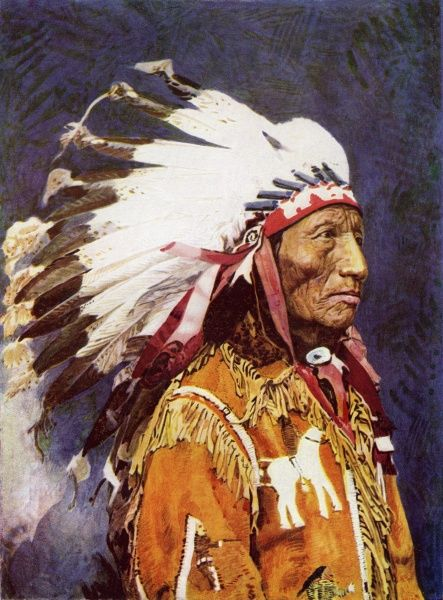 Red indian chief Date: 1922