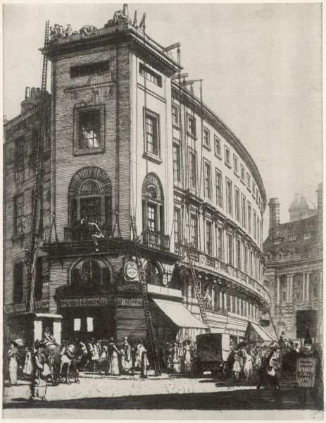 The Quadrant, on the eve of World War One, Date: 1913