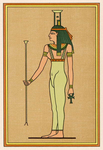A funerary deity, she mourns the Pharaoh when he dies, and escorts him into the Underworld