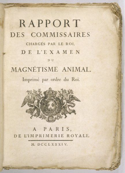 Report of French Royal Commission on Animal Magnetism