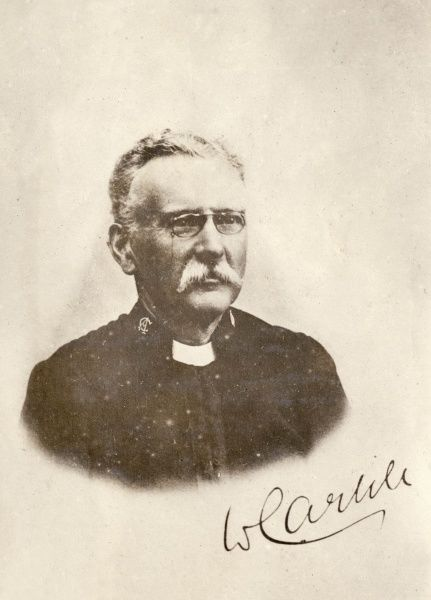 Wilson Carlile, CH (1847-1942), British evangelist who founded the Church Army in 1882, and Prebendary of St Paul's Cathedral. Known as The Chief, he inspired generations of evangelists