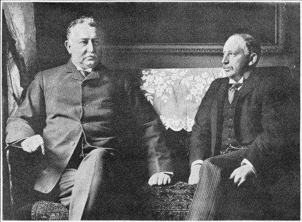 CECIL RHODES and Alfred Beit, photographed soon after they were described in Parliament as members of 'a common gang of thieves and swindlers&#39
