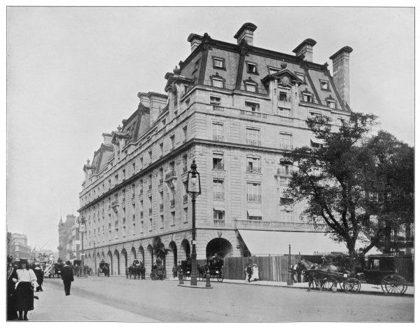 A general view of the Ritz, Piccadilly
