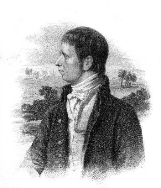 ROBERT BLOOMFIELD Regional poet, author of 'The Farmer's Boy' etc. Date: 1766 - 1823