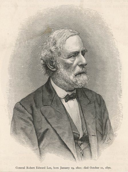 ROBERT EDWARD LEE American Confederate general in later life