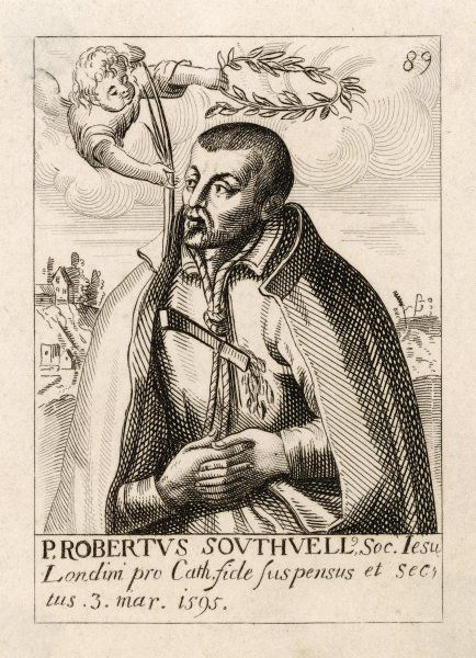 ROBERT SOUTHWELL English poet and Jesuit martyr