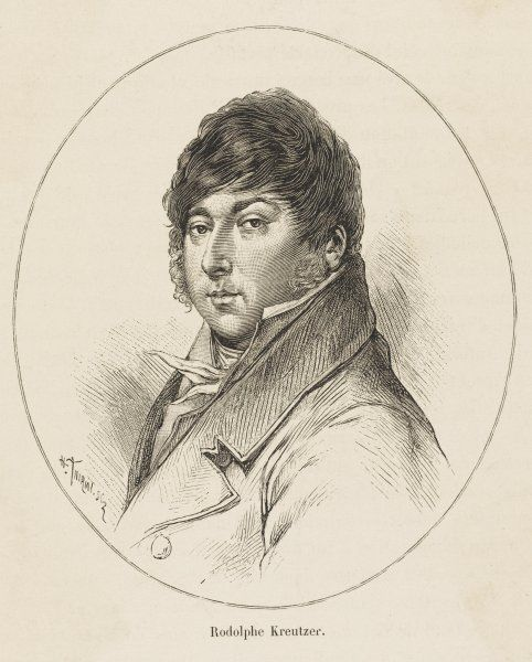 RODOLPHE KREUTZER French violinist and composer