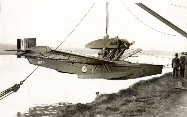 Rohrbach-Beardmore all-metal flying boat Inverness Date