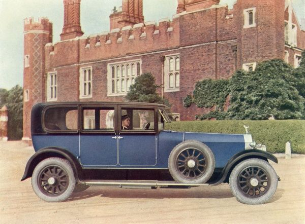 40-50 h.p. six-cylinder 'New Phantom' limousine - already described in 1926 as an 'aristocrat of the road&#39