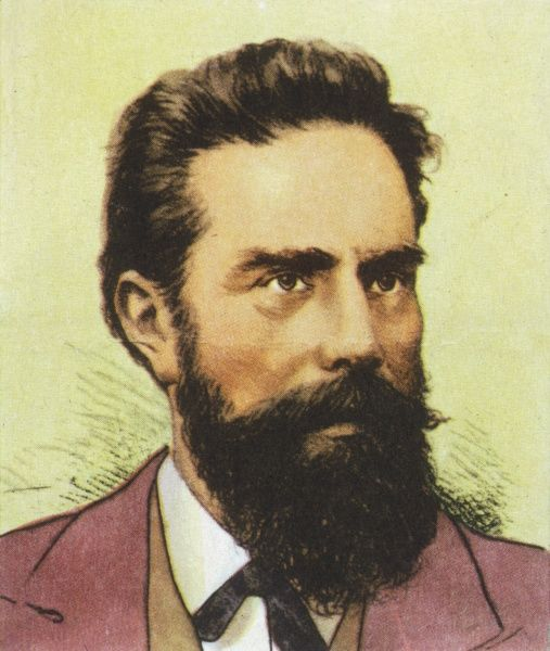 WILHELM CONRAD RONTGEN German physicist who discovered X-rays, 1895, Nobel prizewinner, 1901