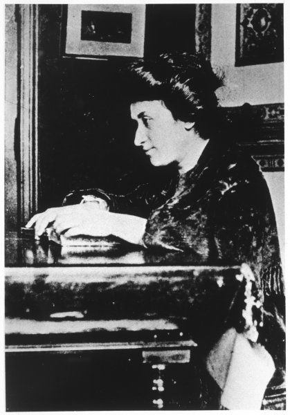 ROSA LUXEMBURG German Socialist agitator, helped found the Polish Social Democratic Party