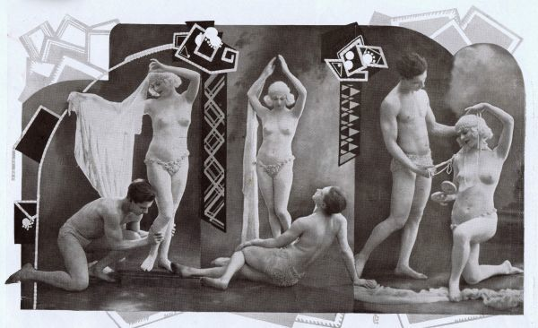 The celebrated French dancing act Roserary and Capella, Paris 1927 Date: 1924