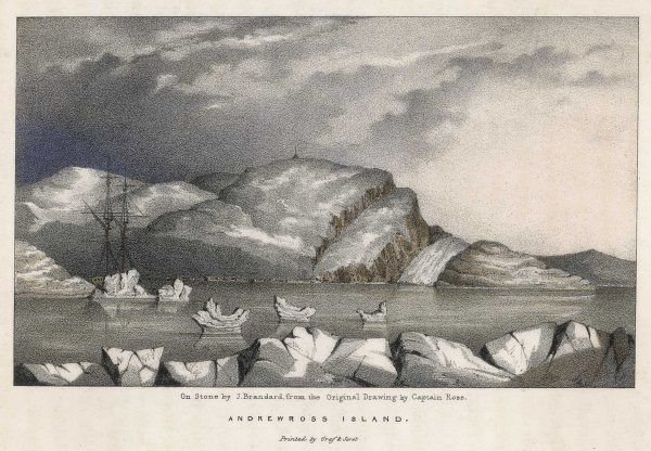 Andrewross Island, during John Ross's Arctic expedition